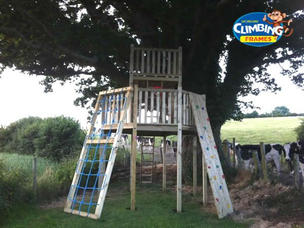 Bespoke Climbing Frame and Tree House Installations
