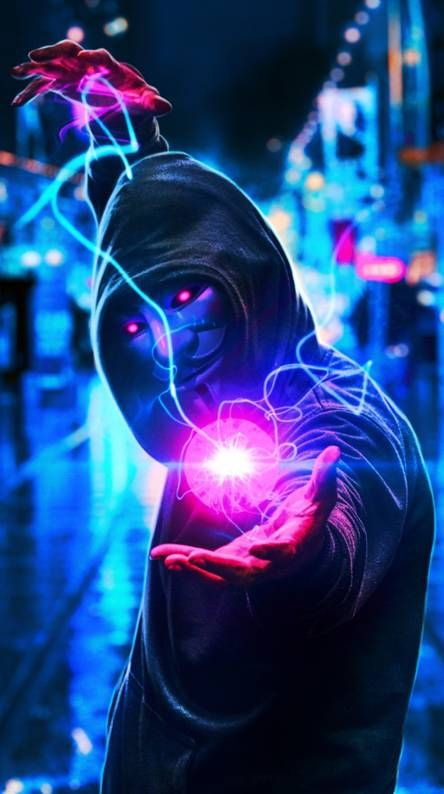 Neon Mask Wallpapers – Cool Backgrounds