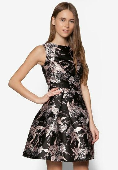 Dorothy Perkins BLACK ORIENTAL PROM DRESS | beauty | Pinterest