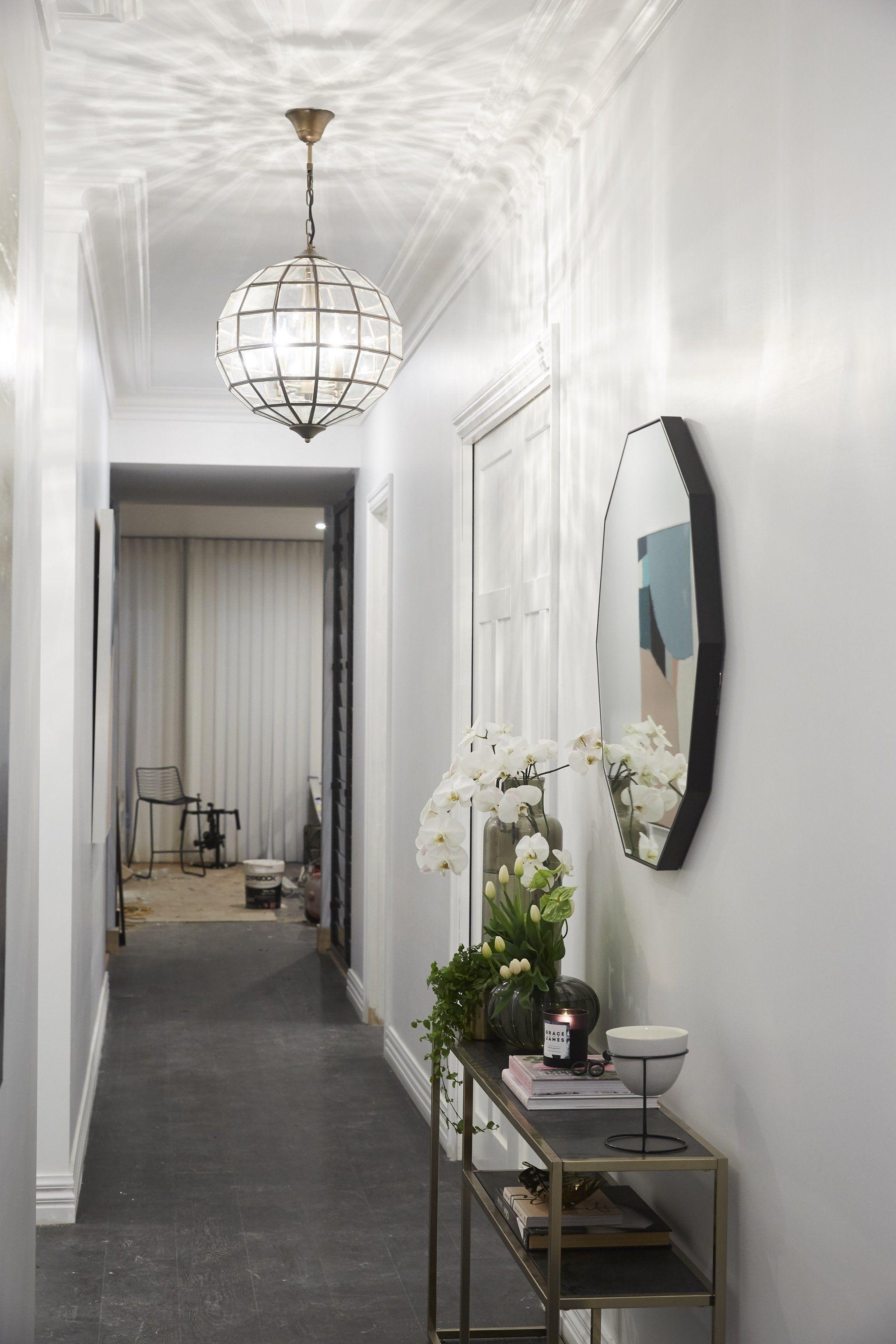 hallway lighting hallway