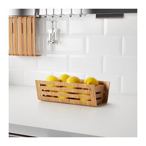 rimforsa basket bamboo pinterest. Black Bedroom Furniture Sets. Home Design Ideas