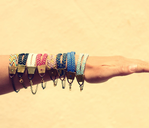 Boat Bracelet. Perfect for layering.
