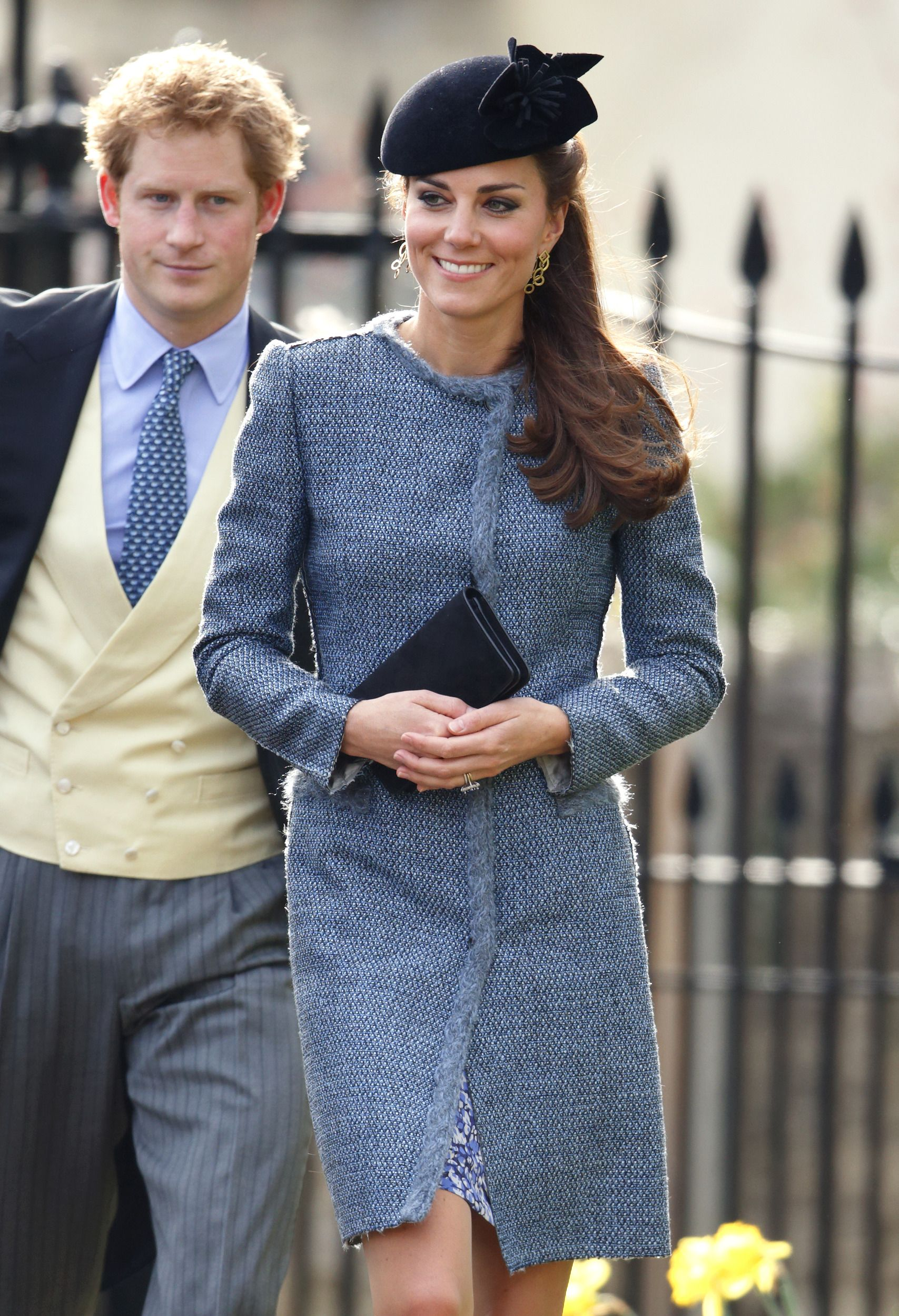 Kate in a fashion faux pas: wears the same outfit as another wedding ...