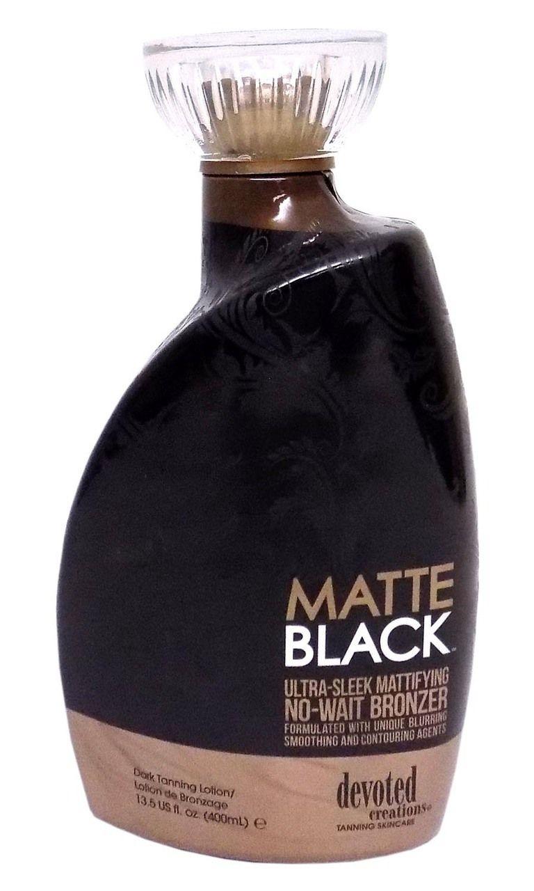 Devoted Creations Matte Black Mattifying No Wait Bronzer
