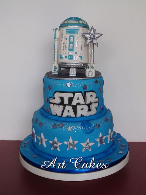 Star Wars Cake Star wars cake Star wars cake toppers and Star