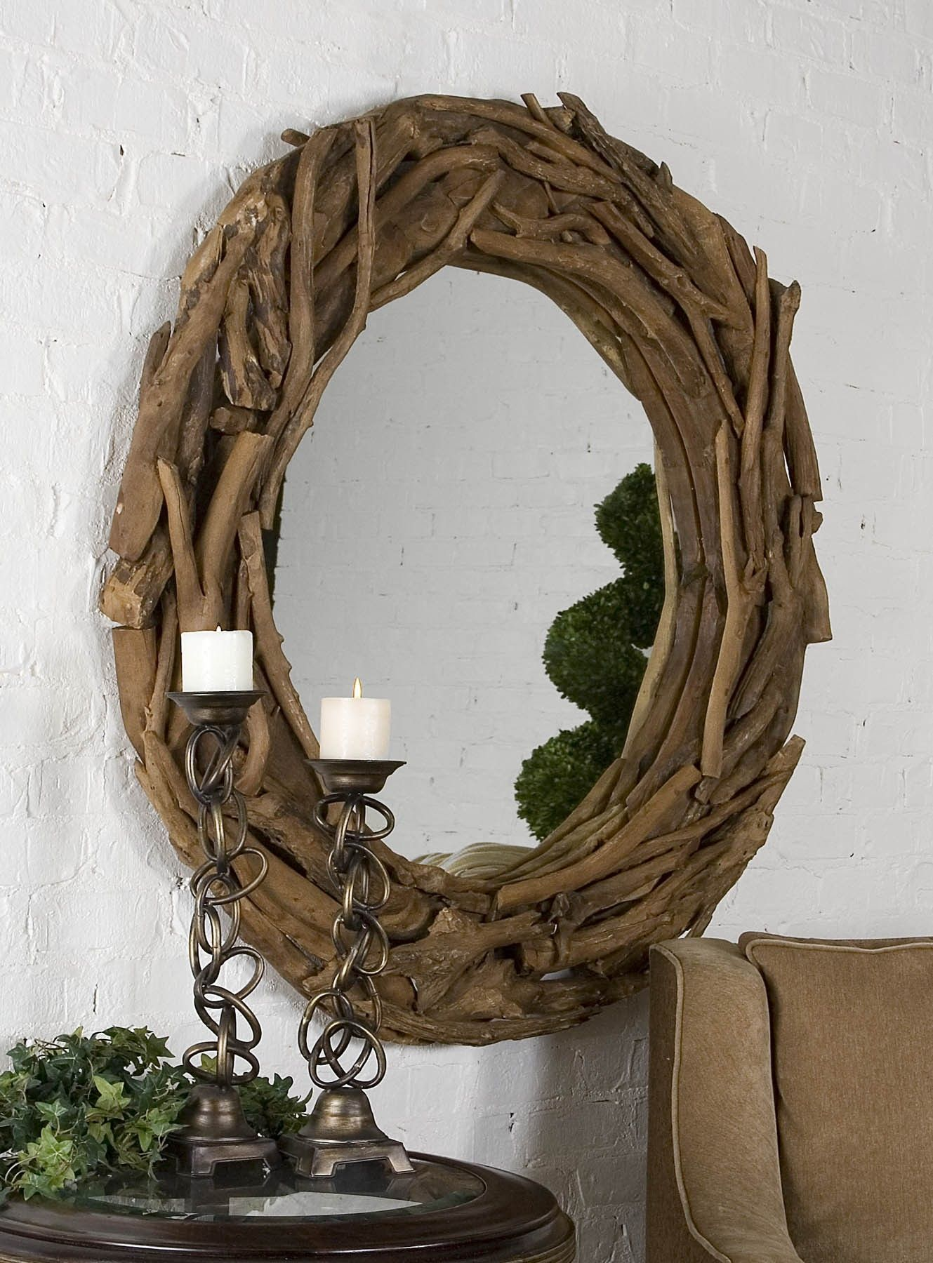 Creative Diy Cool Round Mirrors For Bedrooms Ideas With A