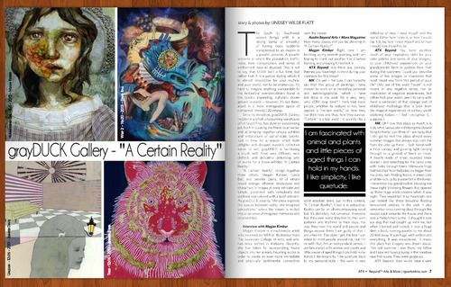 Are you in Austin?   Escape the #SXSW crowd for a bit and go see some #paintings!  #MeganKimber , #DavidBall and I did a 'lil interview for Austin Magazine about our show at #grayDUCK Gallery.  I'm so honored to be a part of this exhibition…  http://www.rgvartonline.com/austin-magazine/ #art