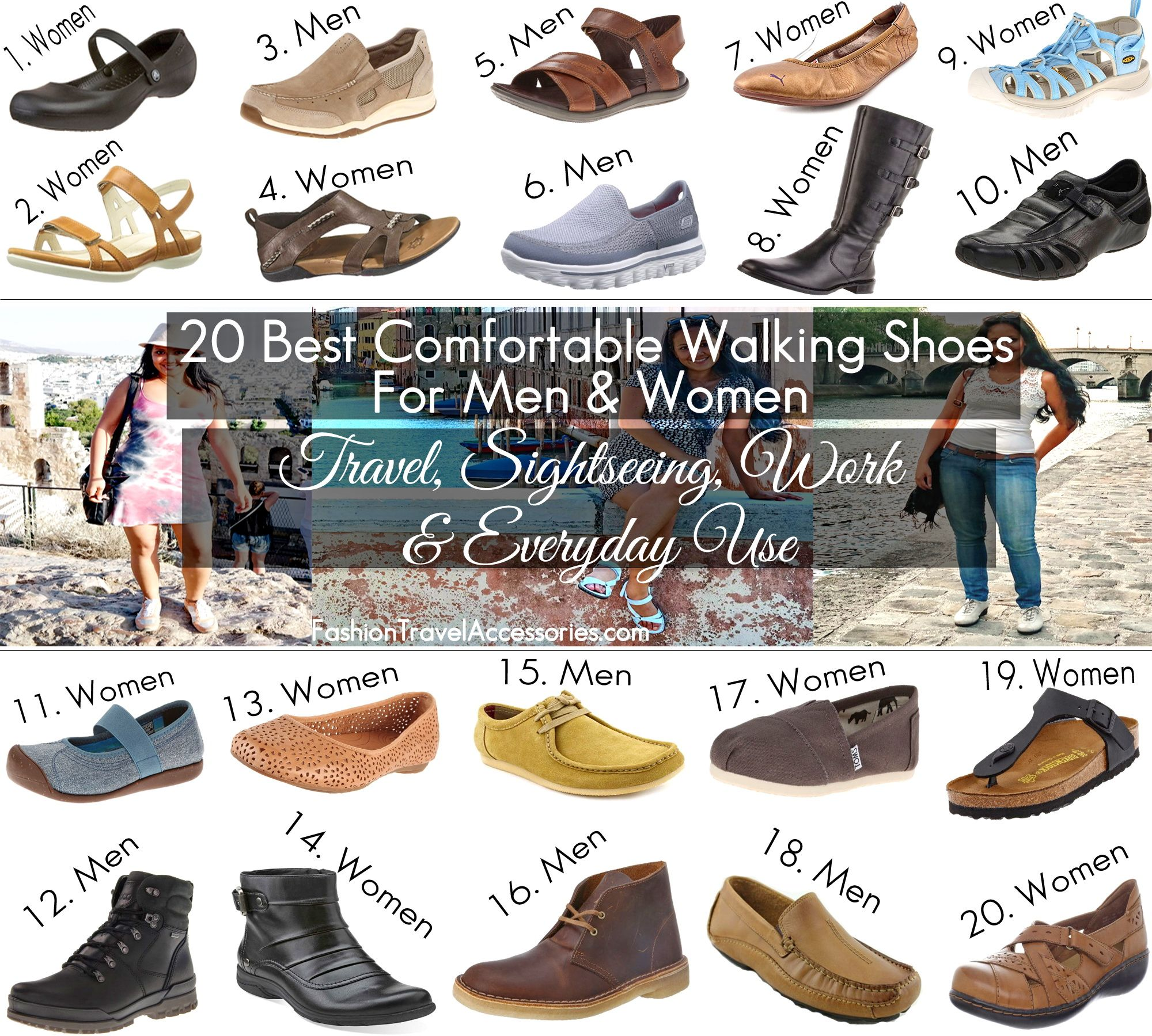 Top 5 Most Comfortable Walking Shoes