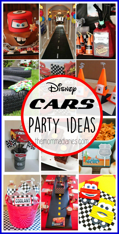 Disney Pixar Cars Party Ideas