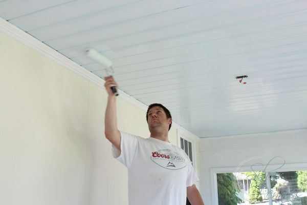 Ben Moore Ociean Air For Ceiling Paint On Porch