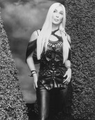Cher as a blonde.