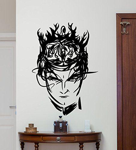 King Joffrey Baratheon Wall Decal Game Of Thrones Vinyl Sticker Fantasy  Movie Wall Art Design Housewares. King Joffrey Baratheon Wall Decal Game Of Thrones Vinyl Sticker