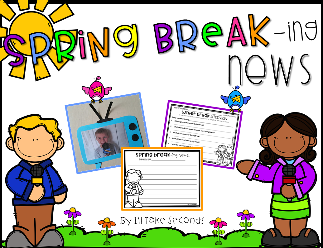 Spring Break Writing And Simple Craft