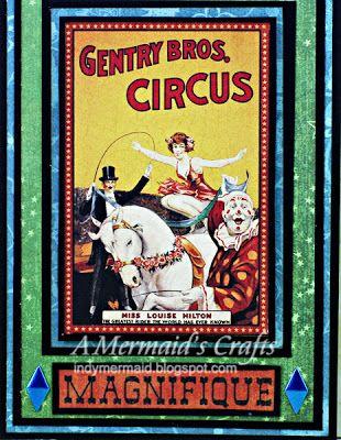 Graphic 45 Le Cirque Bookmark