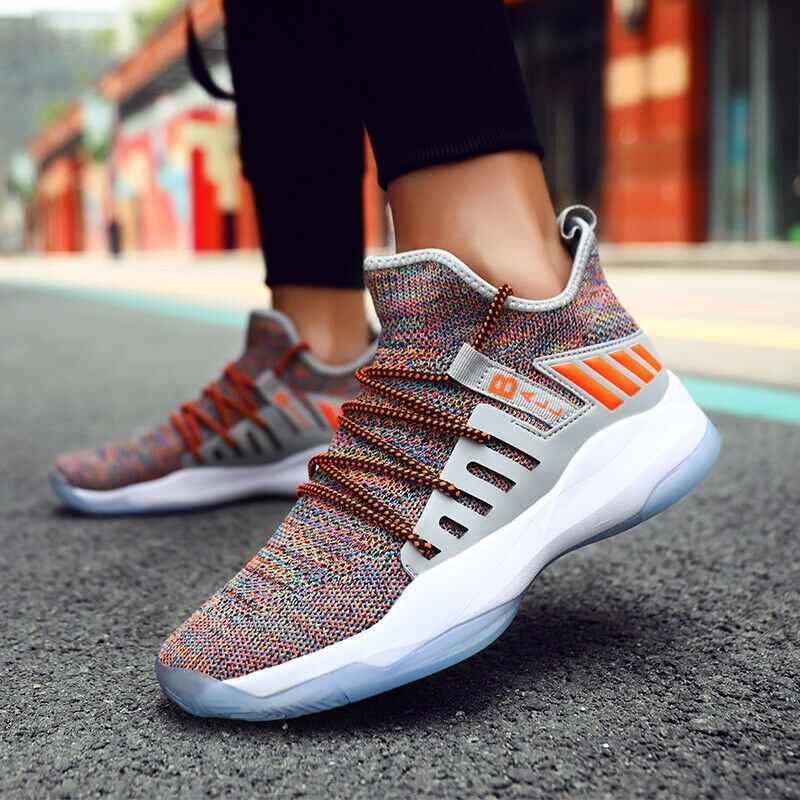 tiger Fashion Fly Knit Shoes Kids Casual Sports Sneakers