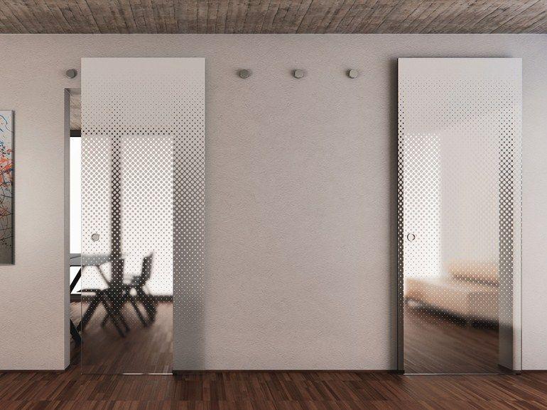 puerta corrediza de vidrio sin marco vitrummove multy coleccin vitrummove by bluinterni