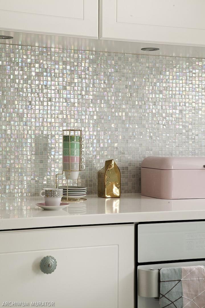 Mozaika ściana Nad Blatem W Kuchni Kitchen W 2019 Domowe