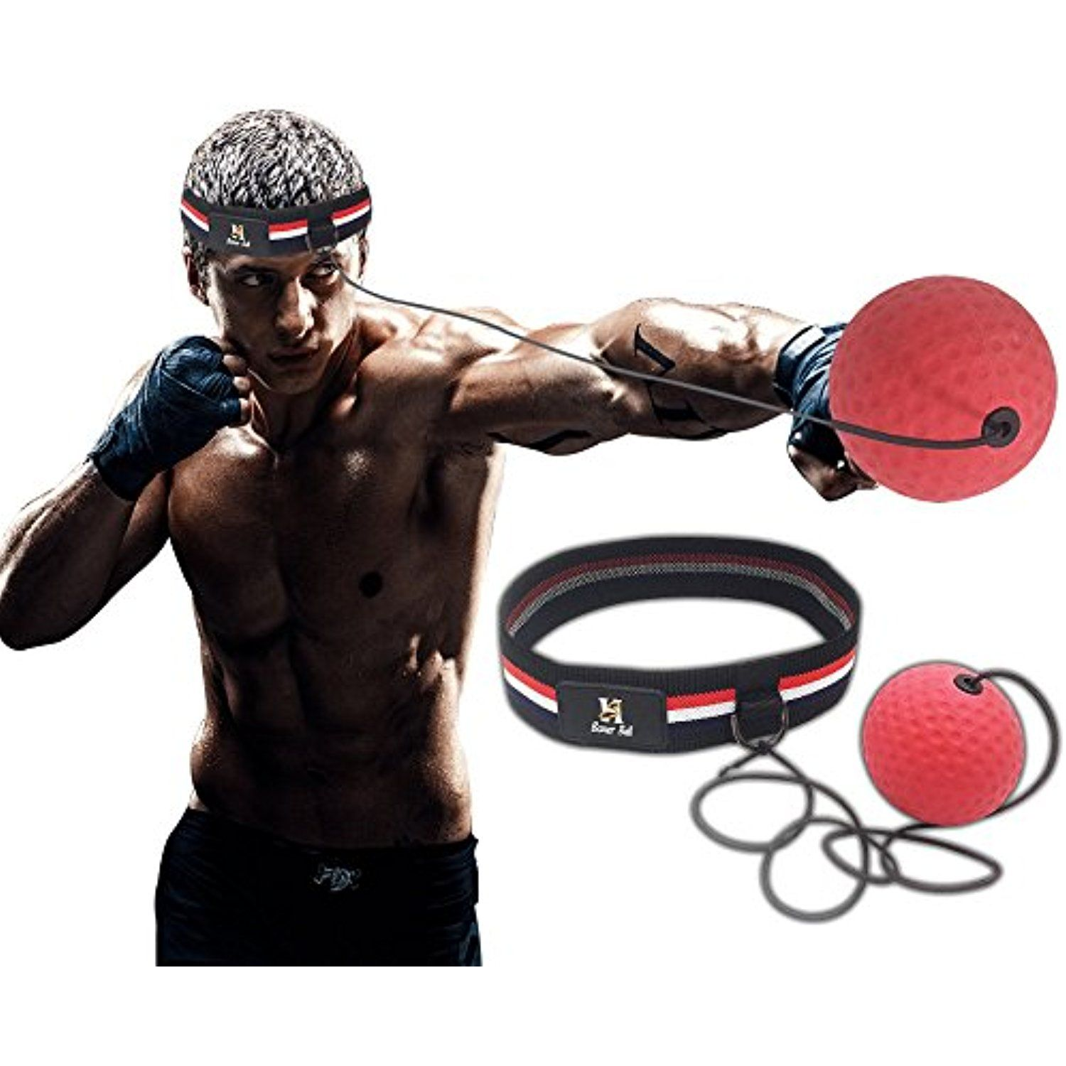 Boxing Reflex Fight Ball Improve Speed With Reaction