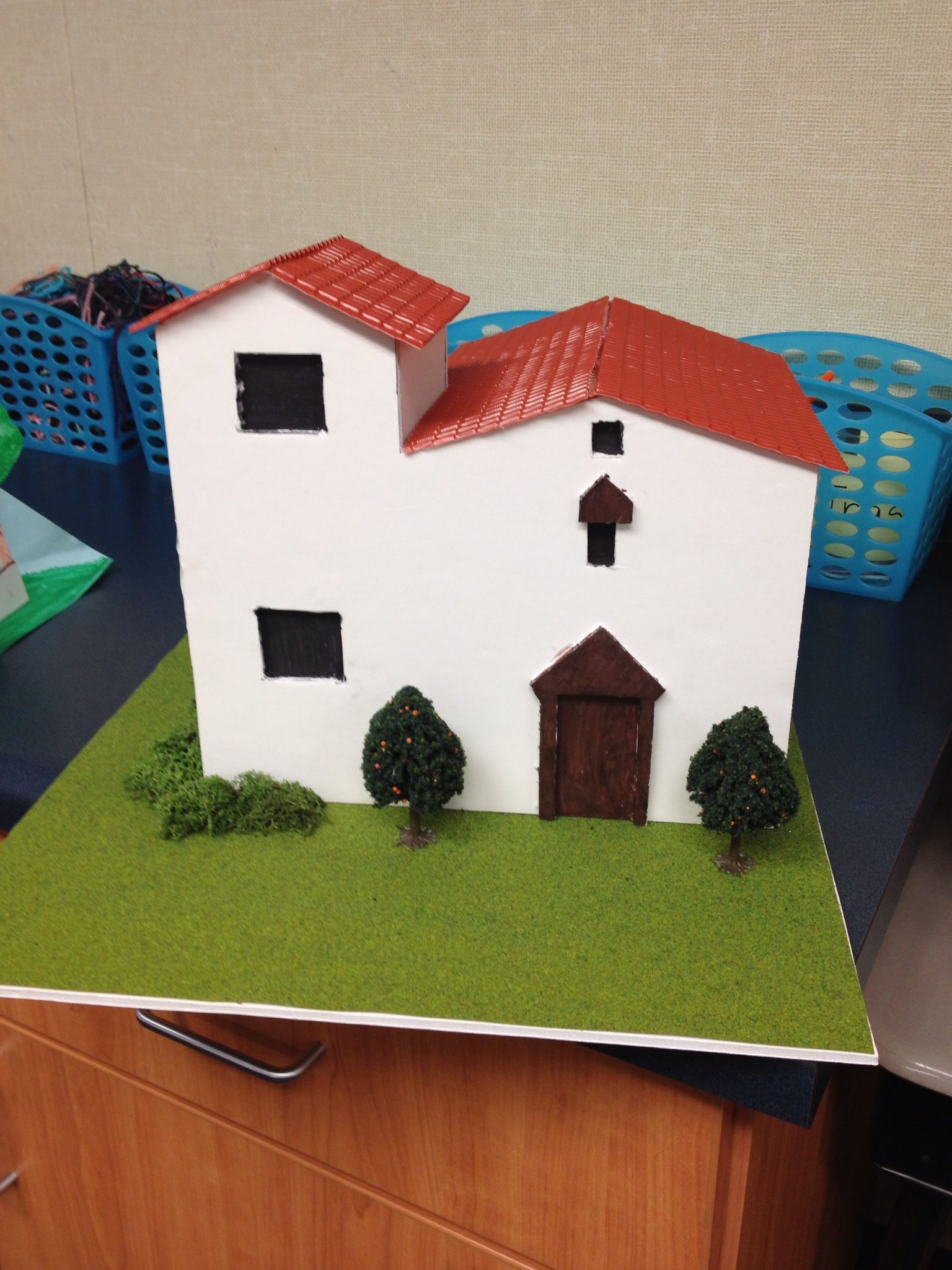 an example of a student created project: constructing a california