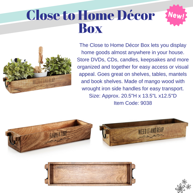 Close to home décor box thirty one gifts llc