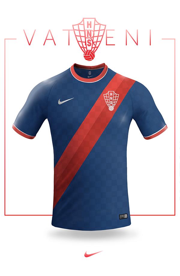 National jersey design - Nike on Behance