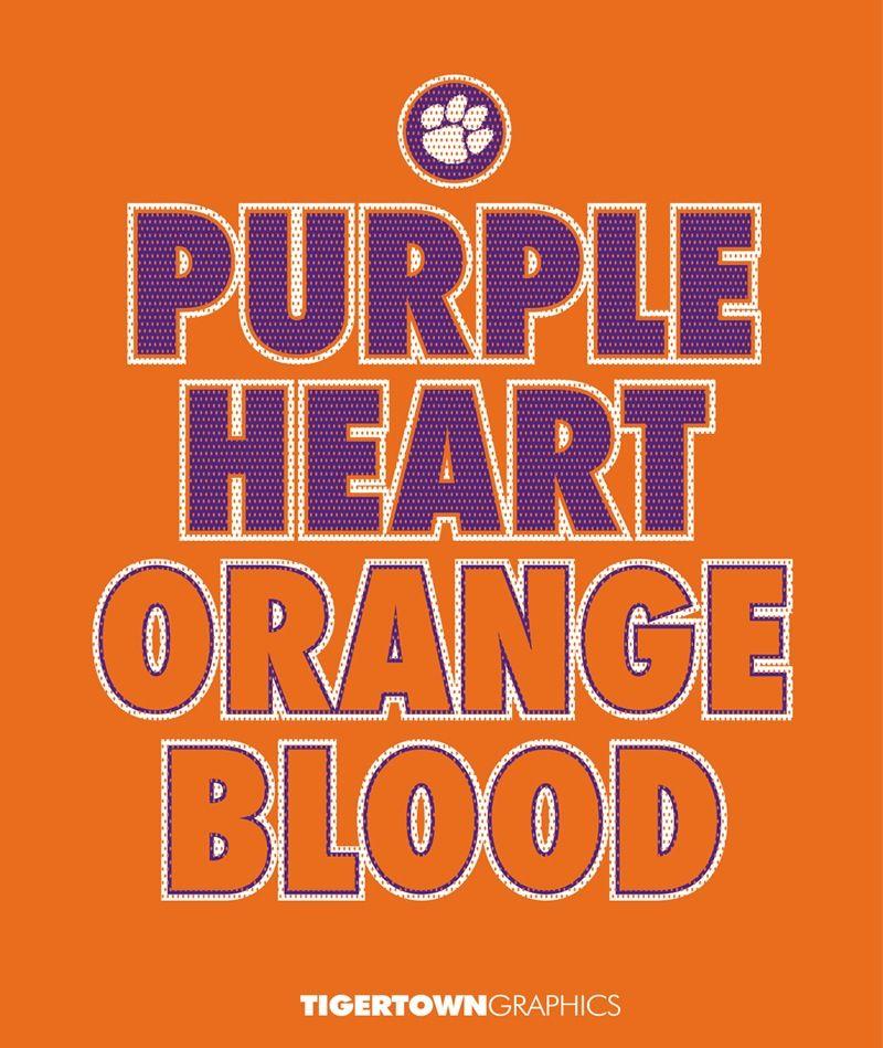 Purple Orange Clemson