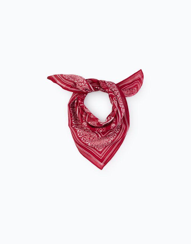 la mejor actitud cb5ed 8a5a6 Pañuelo bandana | mis compras | Bufandas, Pañuelo y Pañuelos