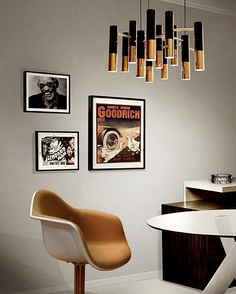Suspension Lamps Modern Lighting Design, dining room ideas for a contemporary home. for more ideas: http://www.bocadolobo.com/en/inspiration-and-ideas/