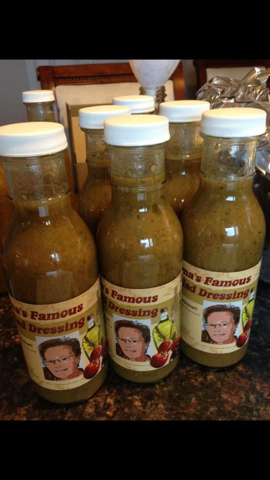 Oma's Famous Salad Dressing. 100% Addictive!! So good, even the kids will love it!