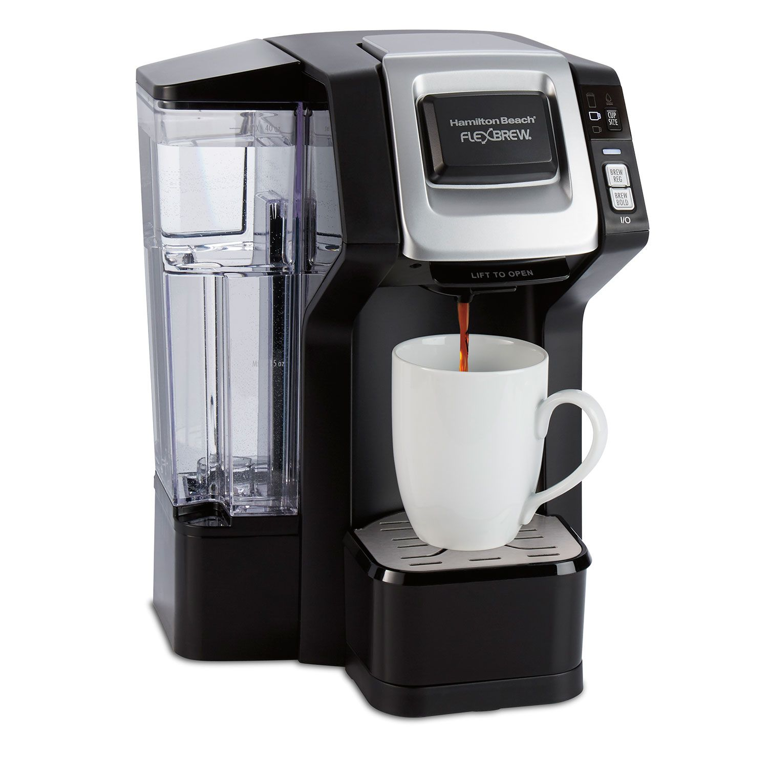 Flexbrew Coffee Maker Single Serve With Removable Water Reservoir