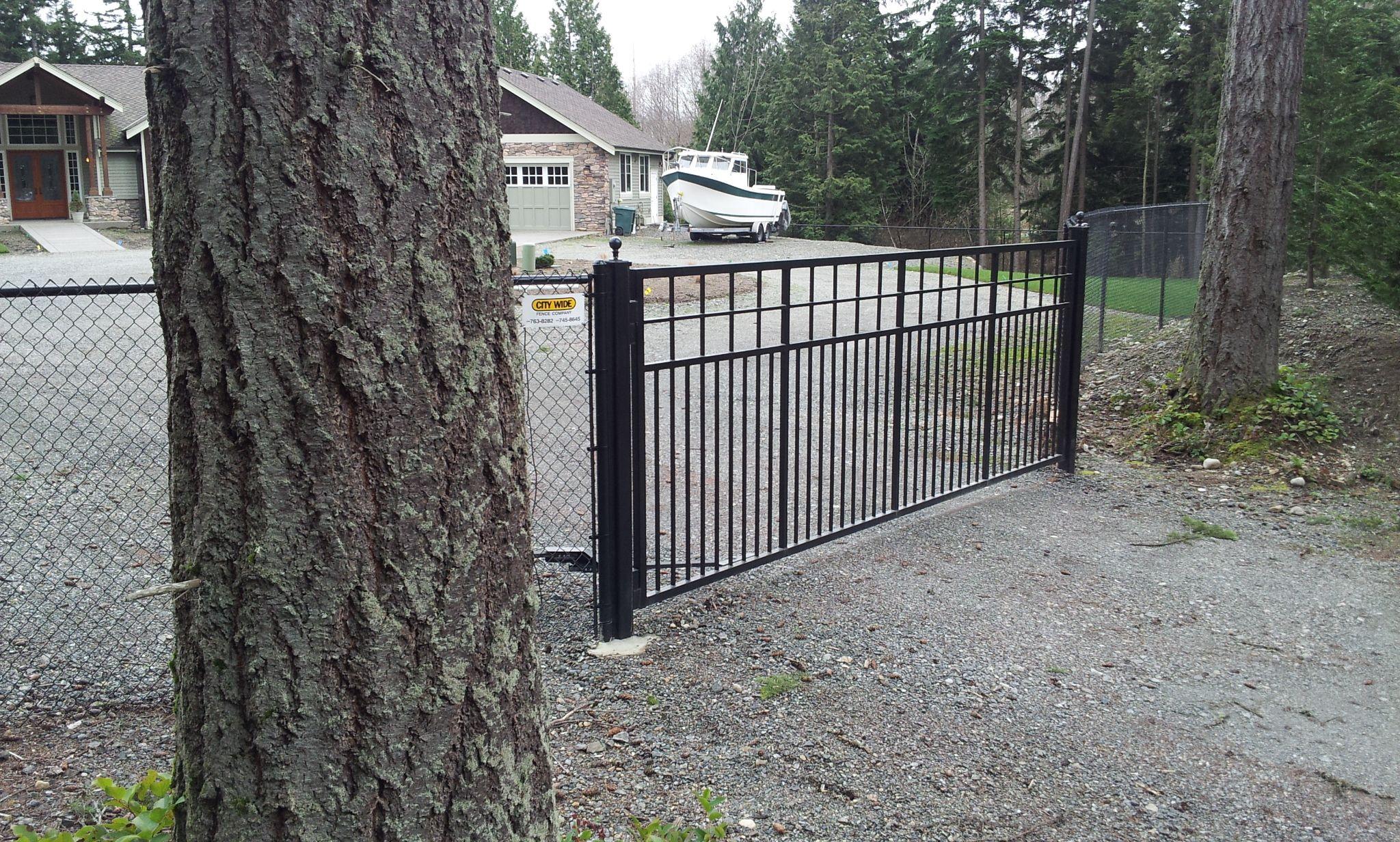 Ornamental Iron Craftsman Style Iron Gate Iron Fence Types Of