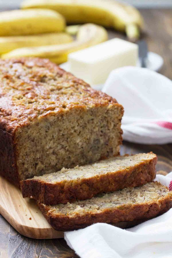 Heartier than normal banana bread this banana oat bread makes the heartier than normal banana bread this banana oat bread makes the perfect breakfast bread forumfinder Gallery