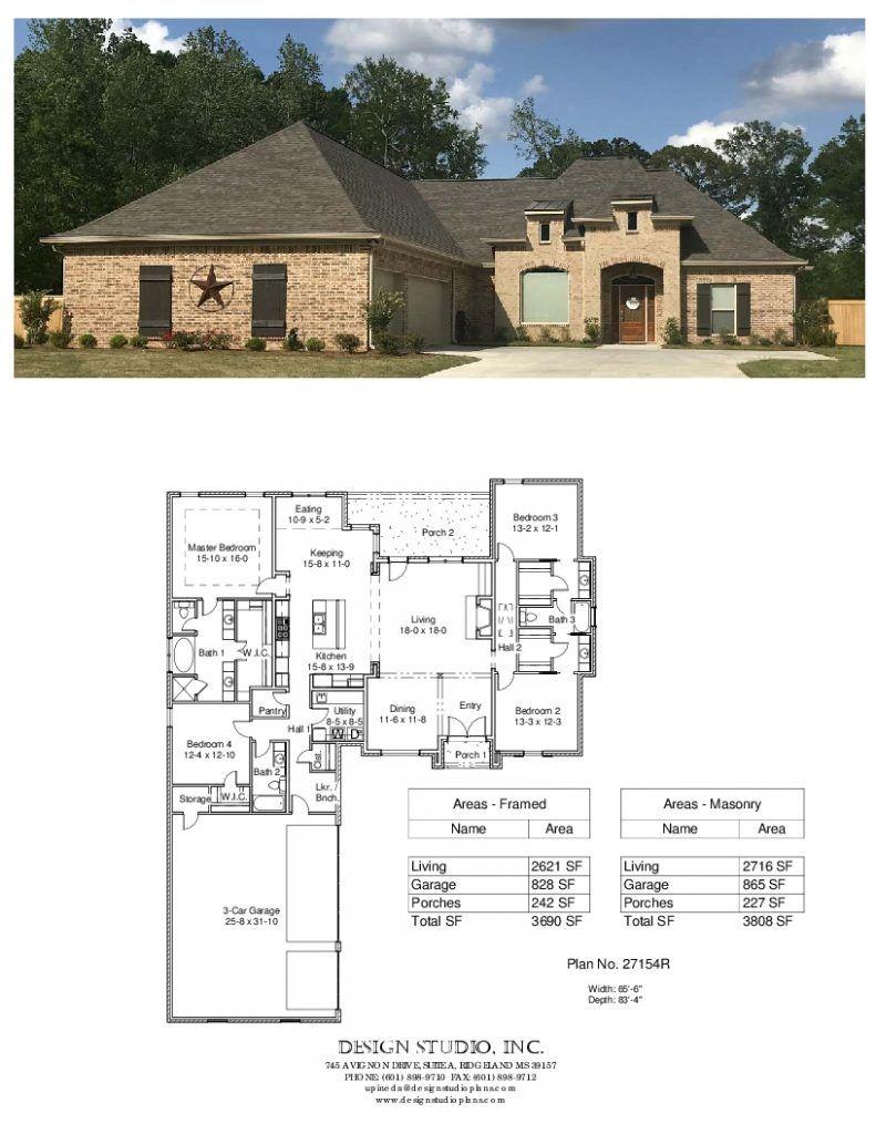 Plan 27154r Design Studio Courtyard House Plans Lake House Plans Building Plans House