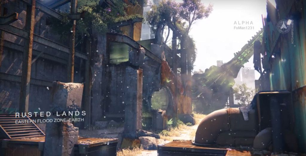 Rusted Lands is a Crucible map located in the Eastern Flood