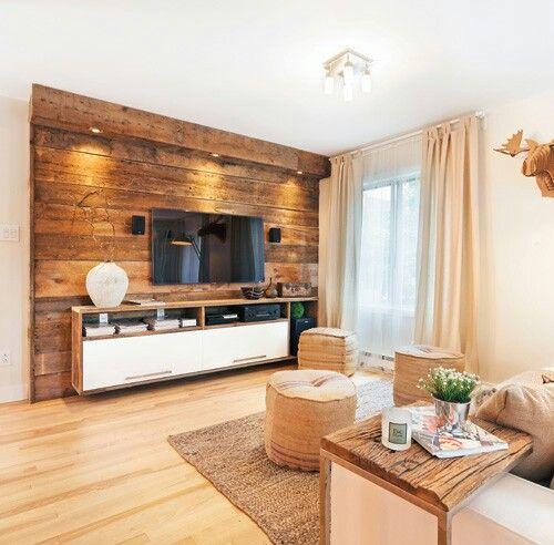 Deco bois grange | deco salon | Pinterest | Rustique, Décoration ...