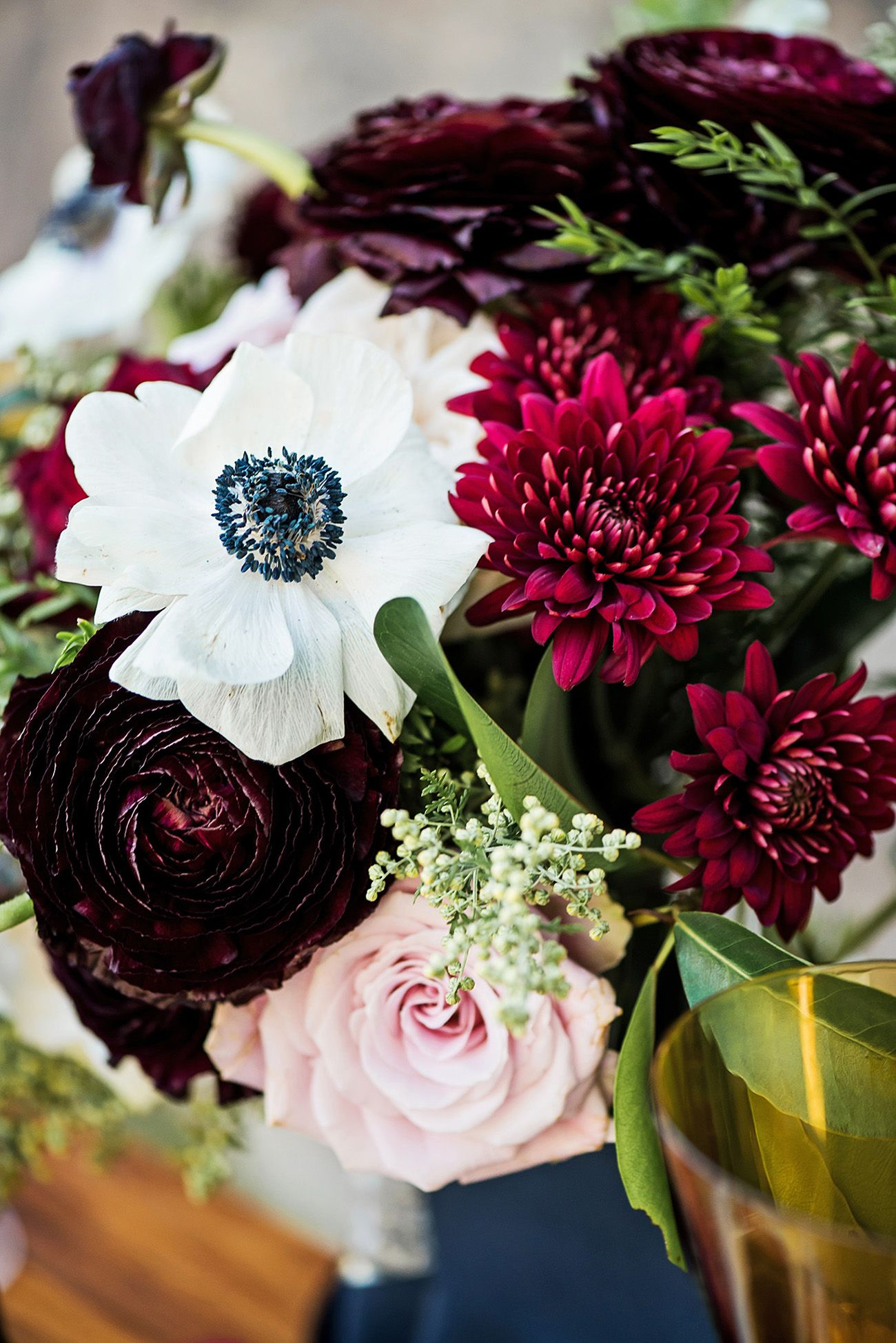 Blue and gold wedding decor  Romantic Burgundy Navy and Gold Wedding Decor  Details  Wedding