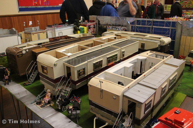 Models of showman's trailers