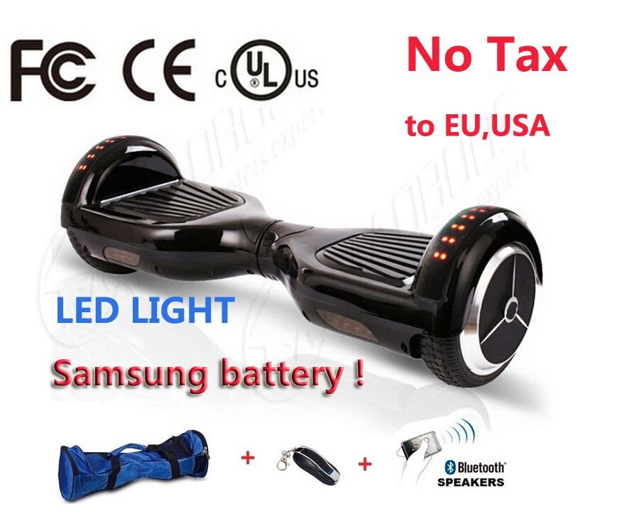 2 Wheel Electric Scooter Bluetooth Remote Bag Hoverboard Electric Skateboard Standing Drift Board Hoverboard Electric Skateboard Electric Scooter Hoverboard