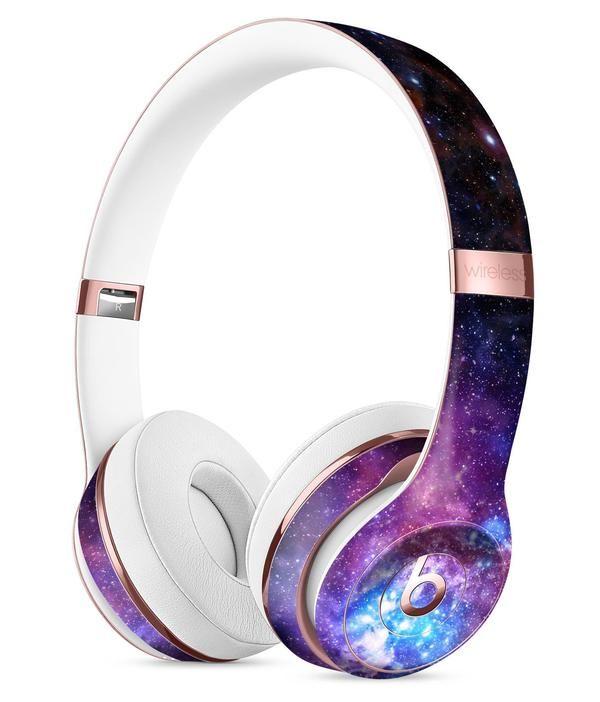 Glowing Deep Space Full Body Skin Kit For The Beats By Dre Solo 3 Wireless Headphones Wireless Headphones Headphones Beats By Dre