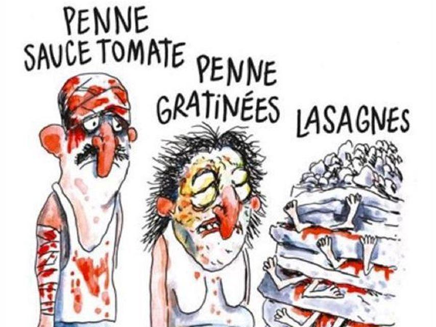 Charlie Hebdo Hace Una Lasana Con Las Victimas Del Terremoto