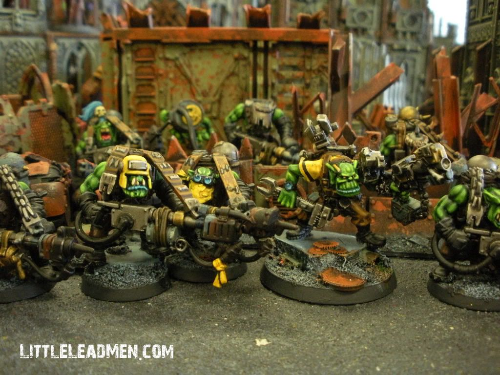One of the Old School Nurgle Renegades with a newer