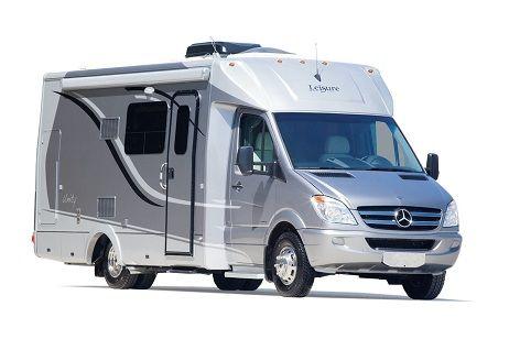 Leisure travel vans unity class b motorhome exterior rv for Mercedes benz class b rv
