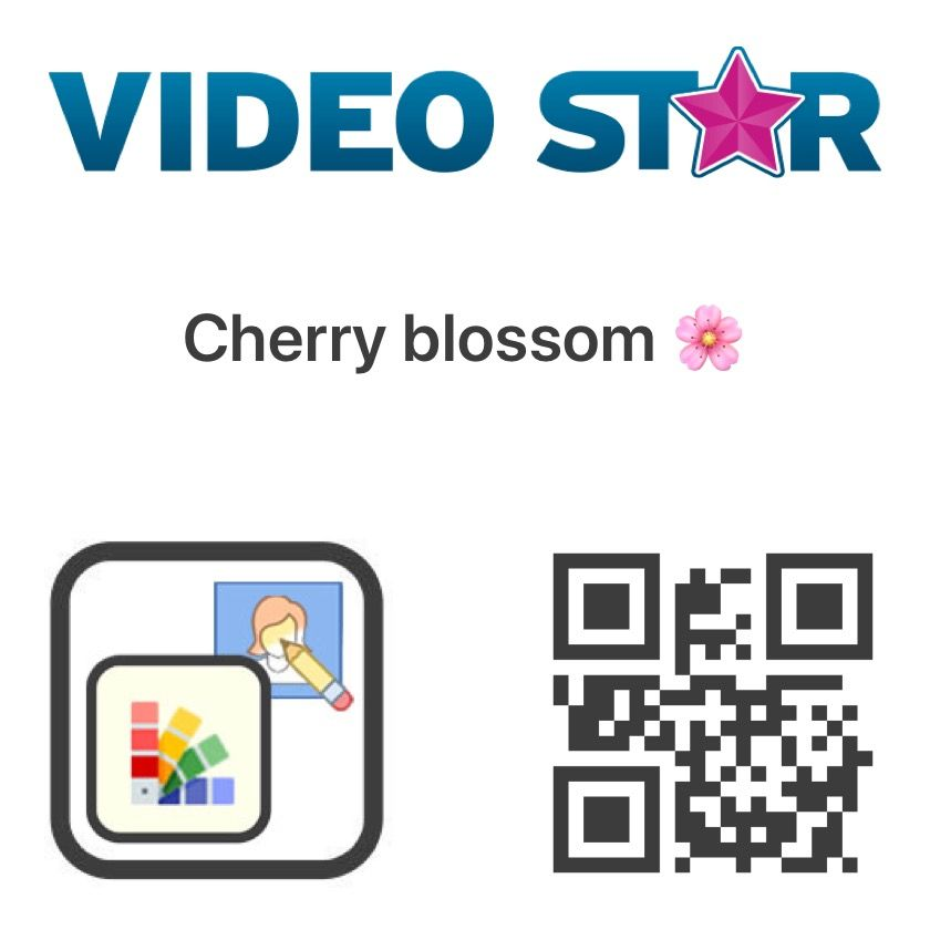 Cherry Blossom Coloring Coding Video Editing Apps Qr Code