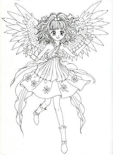 Coloring book blue (Angels) - Mama Mia - Picasa-Webalben ...