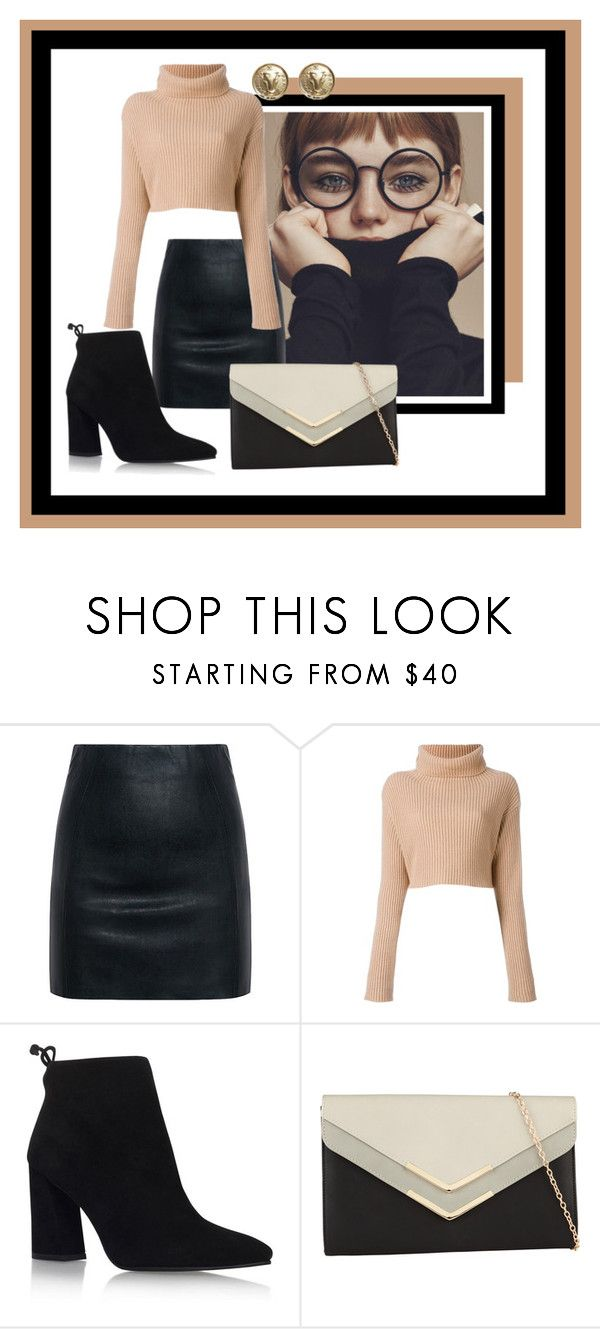 """Ready for Autumn Winds in Style"" by bella-nicole ❤ liked on Polyvore featuring McQ by Alexander McQueen, Valentino, Stuart Weitzman, ALDO and Chanel"