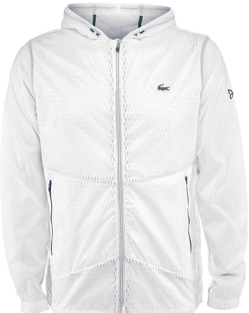 232bad23 Lacoste Men's Novak Djokovic Transparent Jacket | New Men's Tennis ...