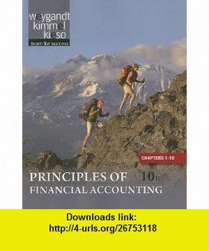 Principles Of Financial Accounting Chapters 1 18 9781118009314