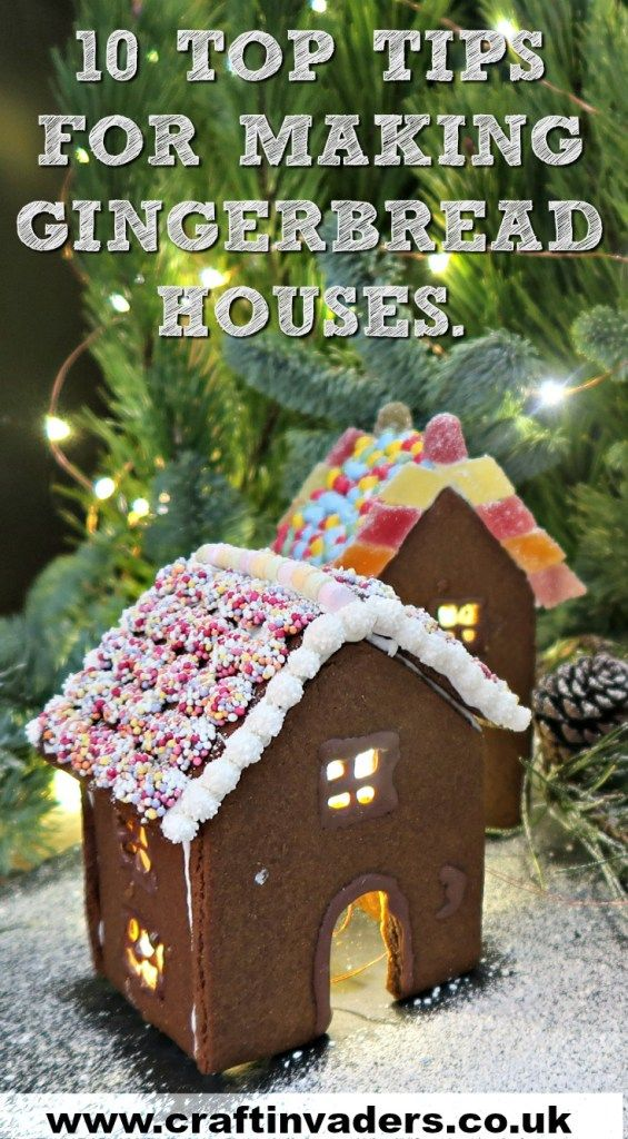 Ten top tips for Making a Gingerbread House Stress free