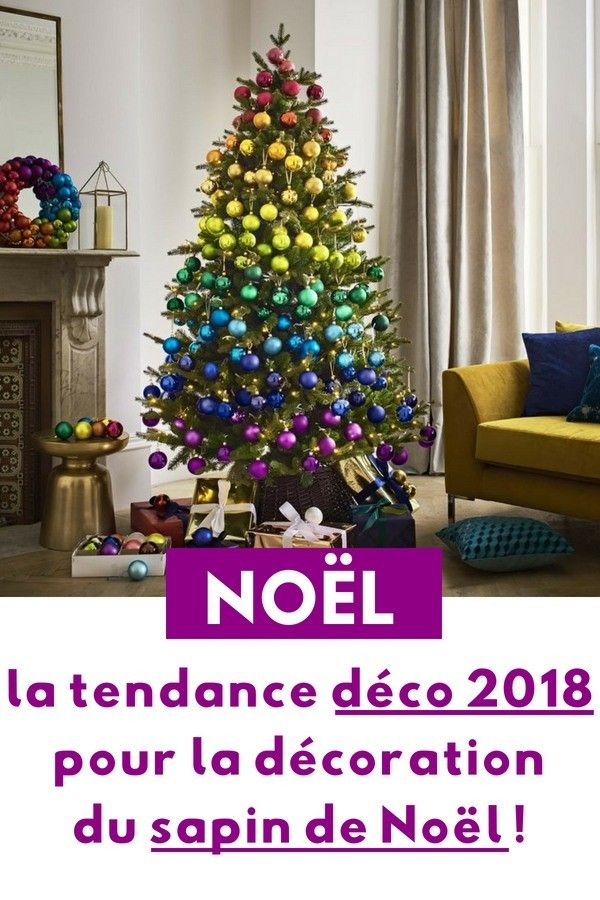 la tendance d co que vous allez voir de partout pour le sapin de no l en 2018 no l 2018. Black Bedroom Furniture Sets. Home Design Ideas