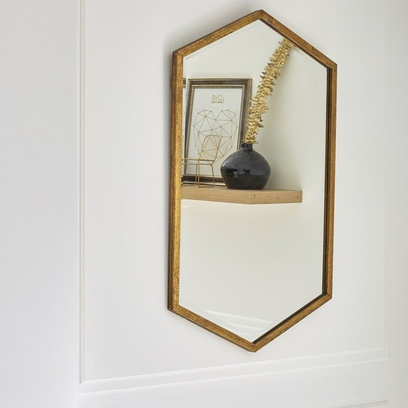 Blanc Beige Naturel Miroir Losange Miroir Design Miroir